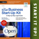 The Small Business Start-Up Kit by Peri Pakroo (Nolo)