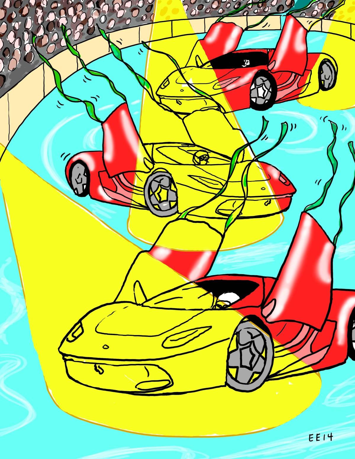 Ferraris on Ice - Edie Everette - Pyragraph