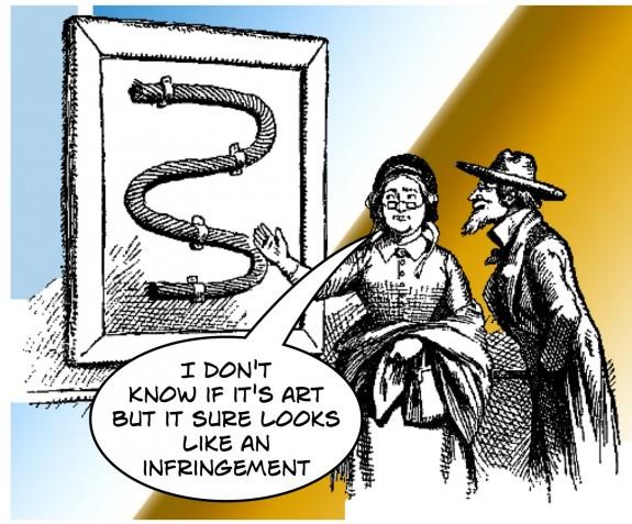 Gallery infringement cartoon