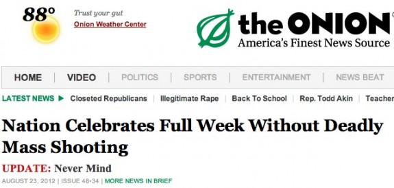 The Onion headline