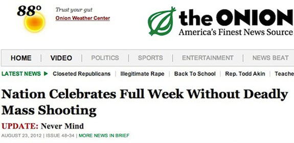 Onion headline