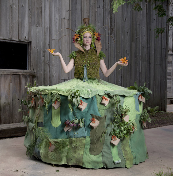 """Nomadik Harvest Dress"" by Nicole Dextras"