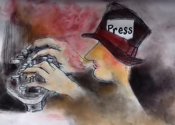 Press at work