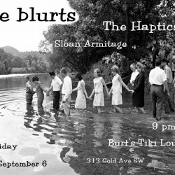 the blurts play Burt's