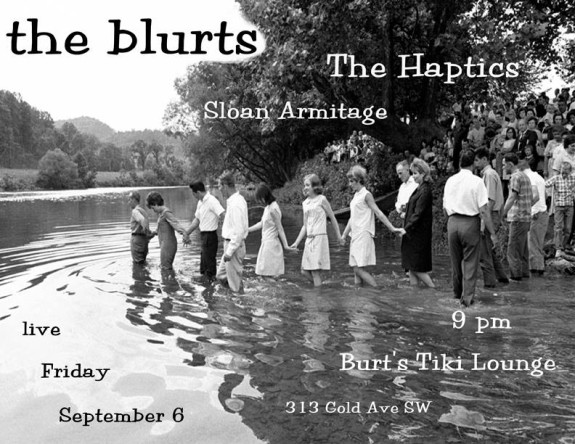 The blurts play Burt's, and Peri's return from life crisis! - Pyragraph