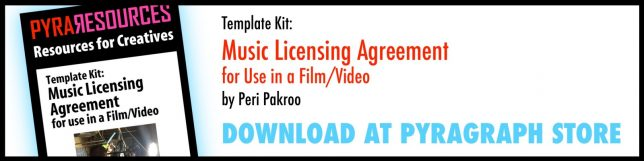 Music Licensing Agreement for Musicians and Filmmakers - Pyragraph