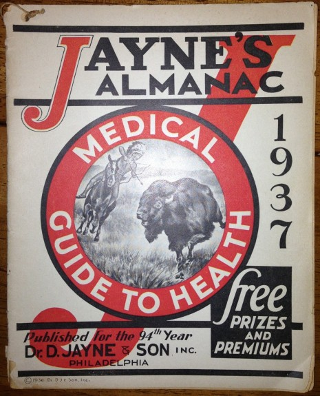 Jayne's Almanac & Medical Guide to Health