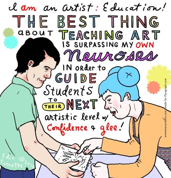 Edie Everett - Education - I am an artist #18 - Pyragraph