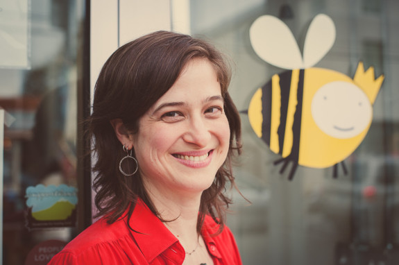 Rebecca Pearcy, founder of Queen Bee Creations