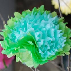 Paper flower by Antonia Montoya.