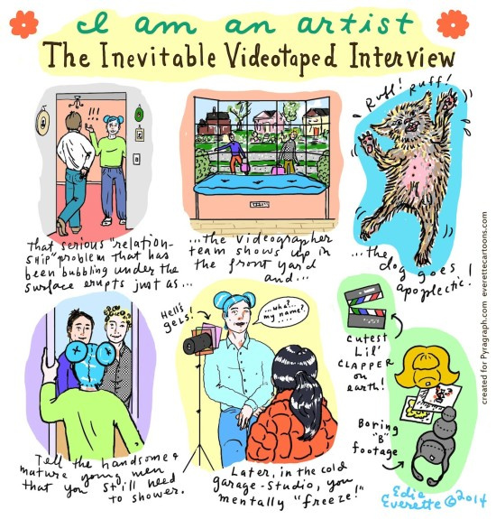 The Inevitable Videotaped Interview by Edie Everette