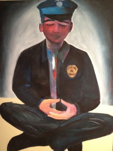 Another approach to out-of-control cops: Buddha Cop by Eva Avenue