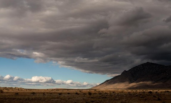 Dos and don'ts of finding an agent - Expansive cloudy sky over a mesa