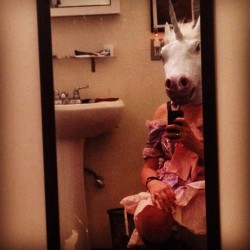 Unicorn in the bathroom - Pyragraph