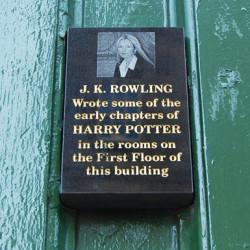 J.K. Rowling plaque - Pyragraph