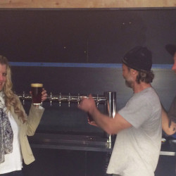 Skye Devore and crew at Tractor Brewing - Pyragraph