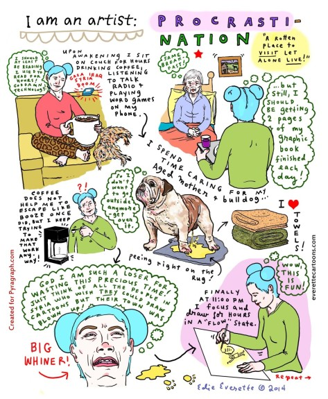 Procrasti-Nation by Edie Everette - Pyragraph