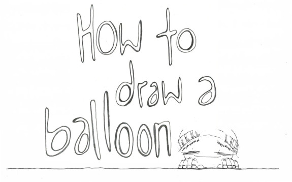 How to Draw a Balloon - Pyragraph