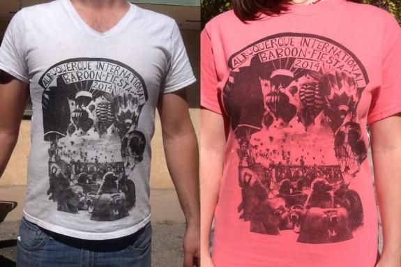 Baboon Fiesta shirts - Pyragraph