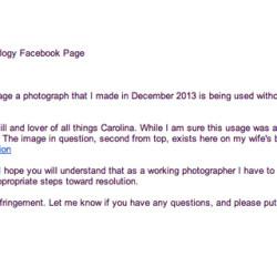 Copyright infringement - Pyragraph