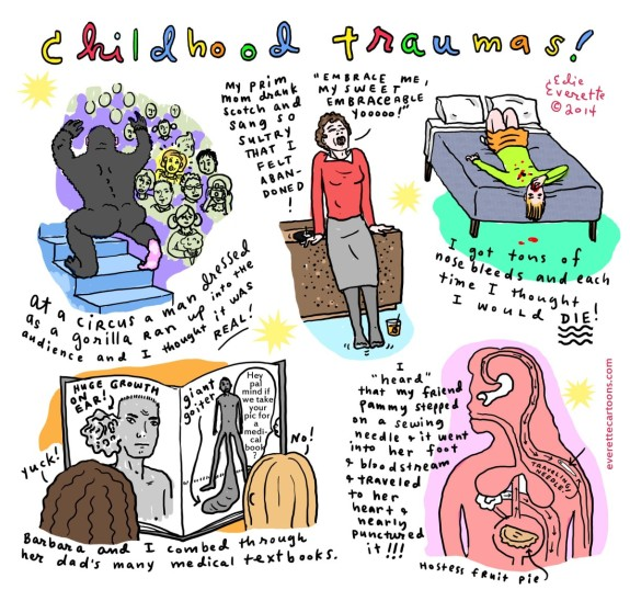 Edie Everette Childhood Traumas - Pyragraph