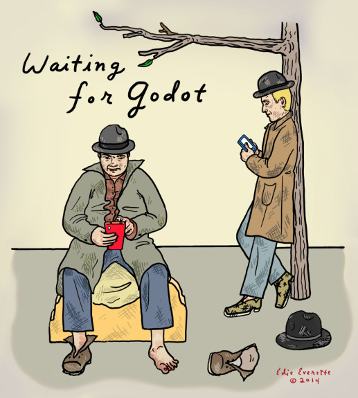 Edie Everette Waiting for Godot - Pyragraph