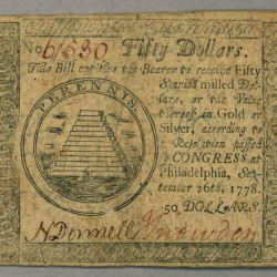 Vintage currency - Pyragraph