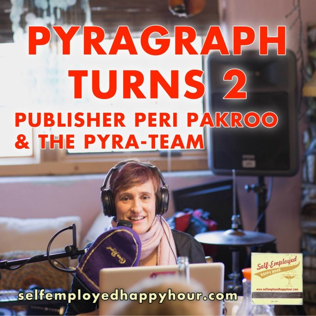 Self-Employed Happy Hour: Pyragraph Turns 2 - Pyragraph