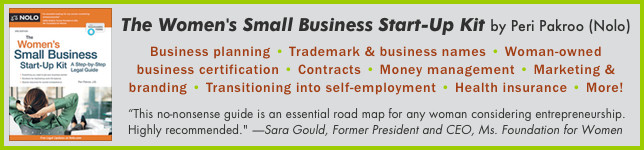 The Women's Small Business Start-Up Kit by Peri Pakroo - Pyragraph