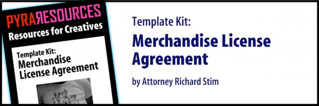 Merchandise License Agreement - Pyragraph