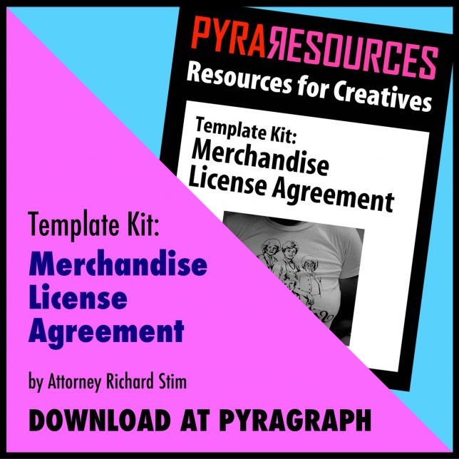 Merchandise License Agreement Template Kit - Pyragraph