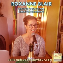 Roxanne Blair, Director of Programs for Creative Startups - Pyragraph