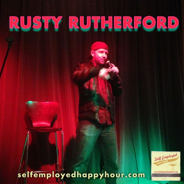 Rusty Rutherford - Self-Employed Happy Hour - Pyragraph