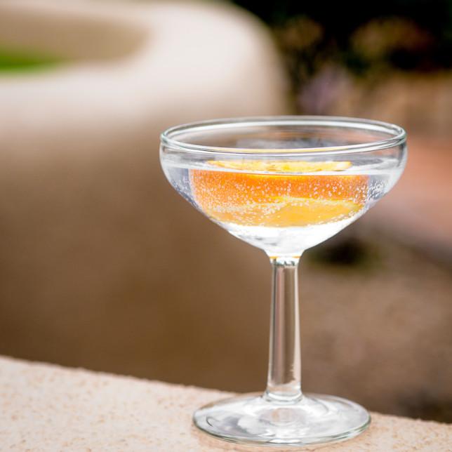 Coupe glass - Clarke Conde - Pyragraph