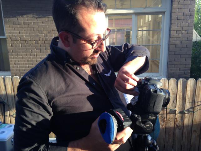 Jeremy Kinter, camera operator - Pyragraph