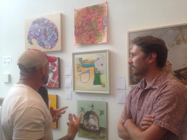 Josh Stuyvesant at 516 ARTS - Pyragraph