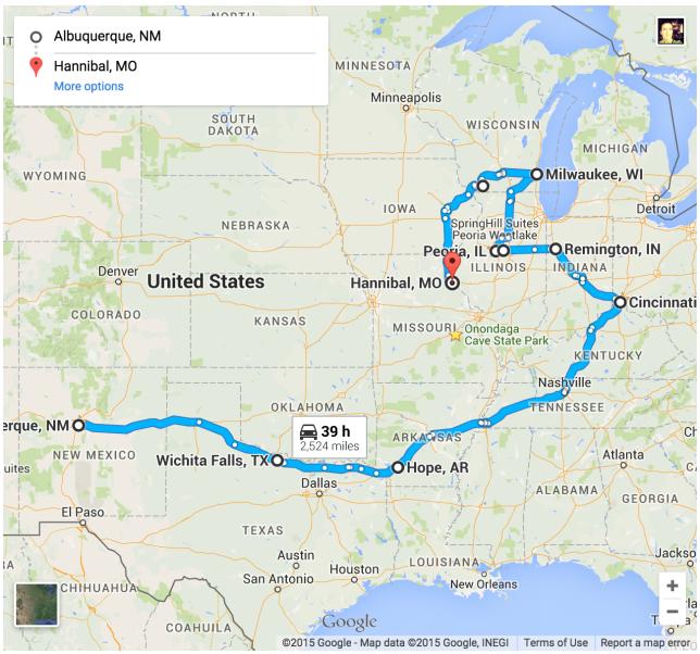 Google Maps - Pyragraph