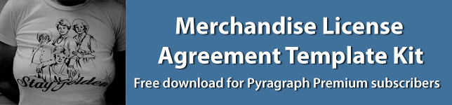 Merchandise Licensing Agreement Template Kit - Pyragraph