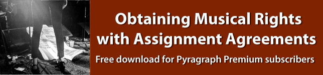 Obtaining Musical Rights with Assignment Agreements - Pyragraph