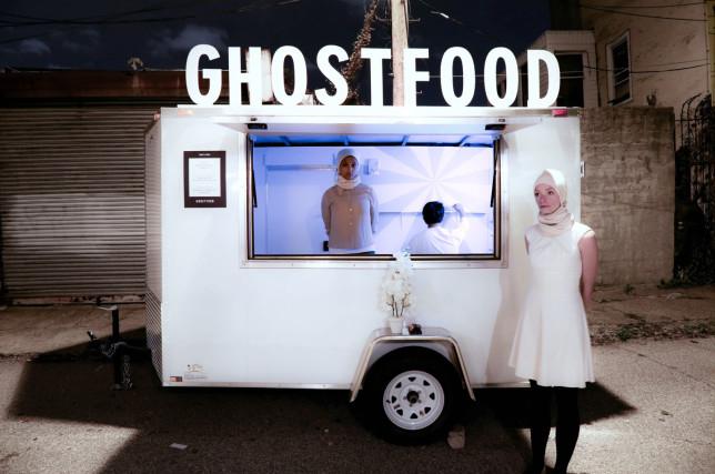 GhostFood Trailer by Miriam Simun.
