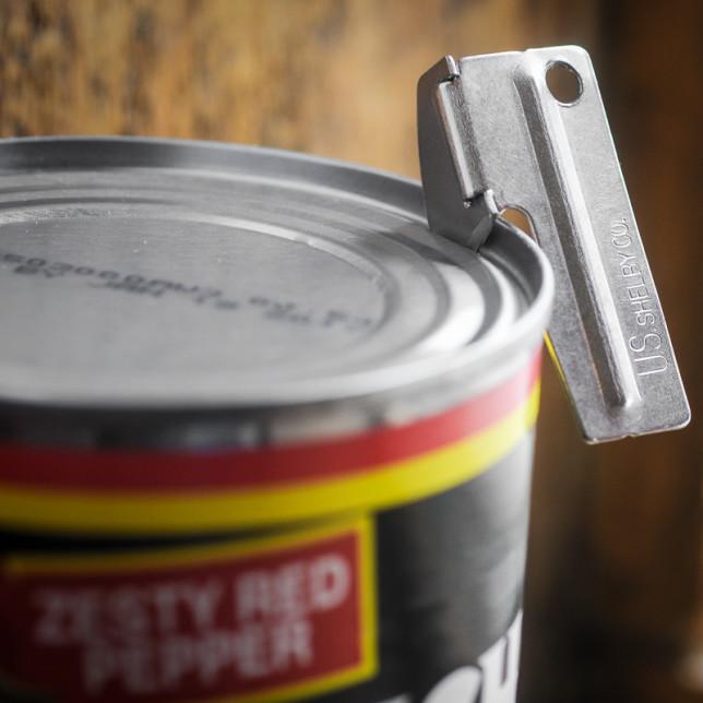 P38 can opener – Albuquerque Food Photographer Clarke Condé – Pyragraph