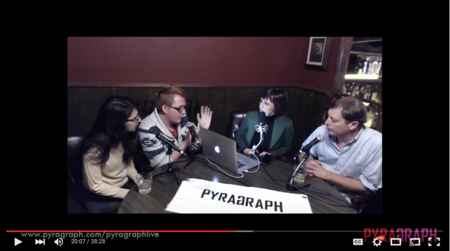 Shandiin Woodward and Ryan Leonski - Pyragraph