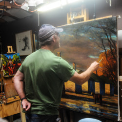 Mark Beck, painter - Pyragraph