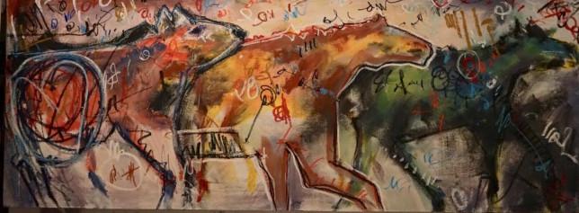 """""""Three Horses"""" by Rocky Norton"""