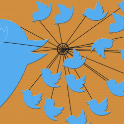 using twitter - Pyragraph