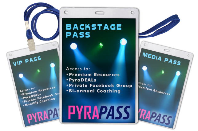 Backstage Pass - Pyragraph