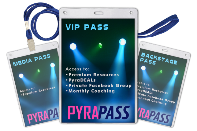 VIP Pass - Pyragraph