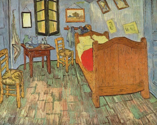 Bedroom in Arles - Pyragraph