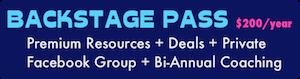 Pyragraph Backstage Pass