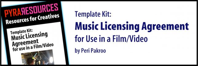 Music Licensing Kit for Use in a Film or Video - Pyragraph